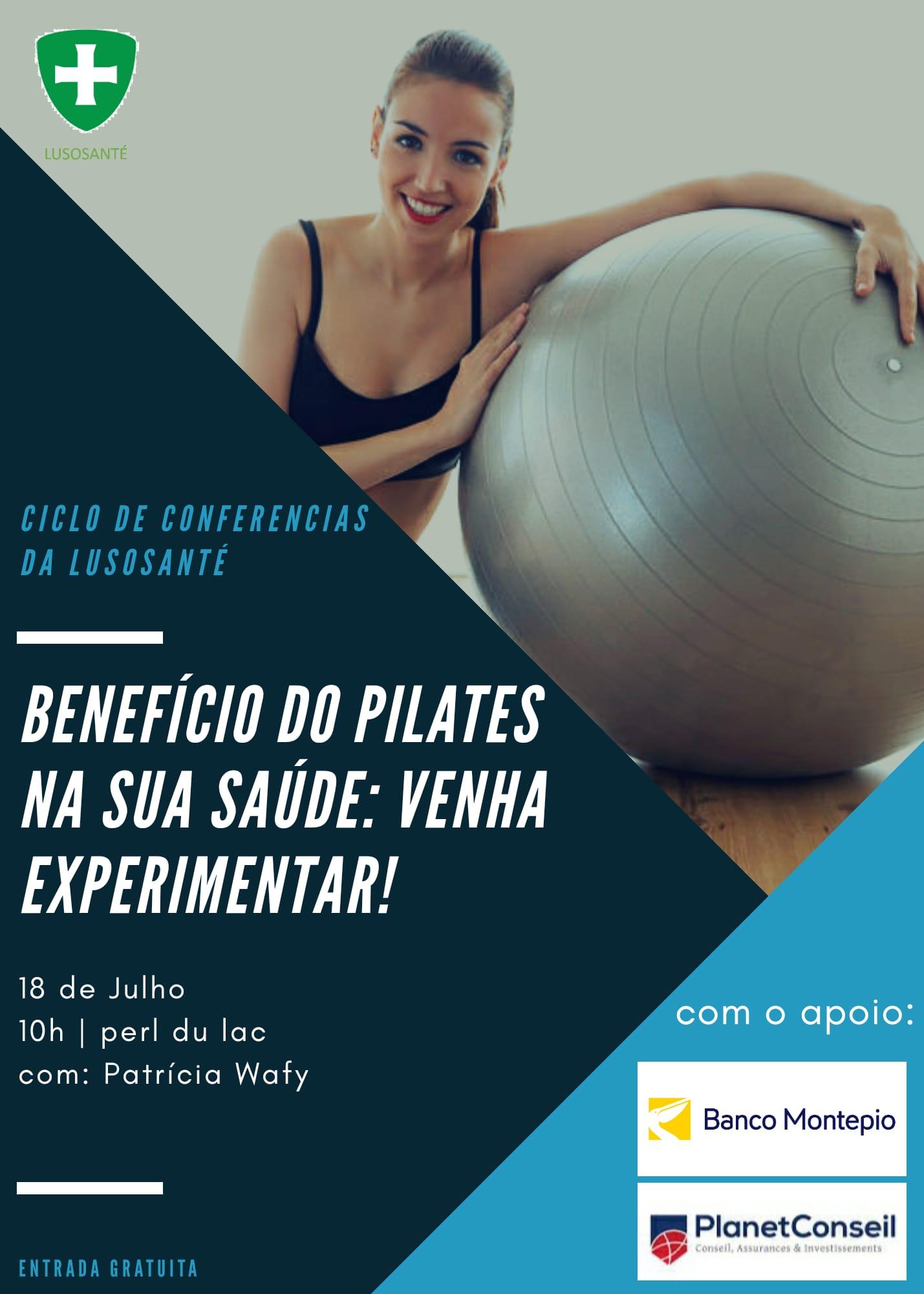 Benefício do Pilates na Sua Saúde: Venha experimentar