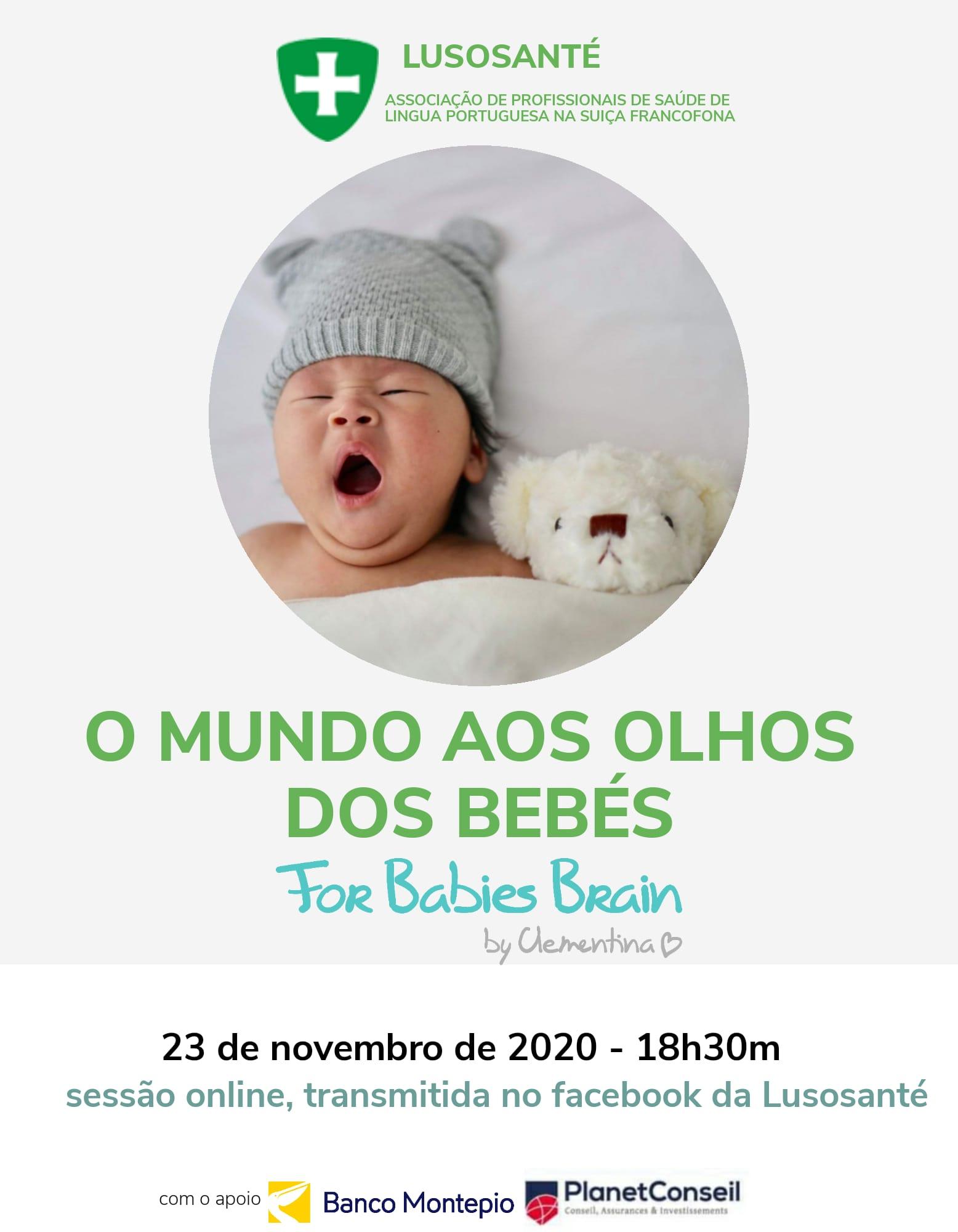 O mundo aos olhos dos bebés